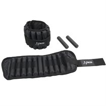 DKN 2 x 5kg Adjustable Ankle Weights