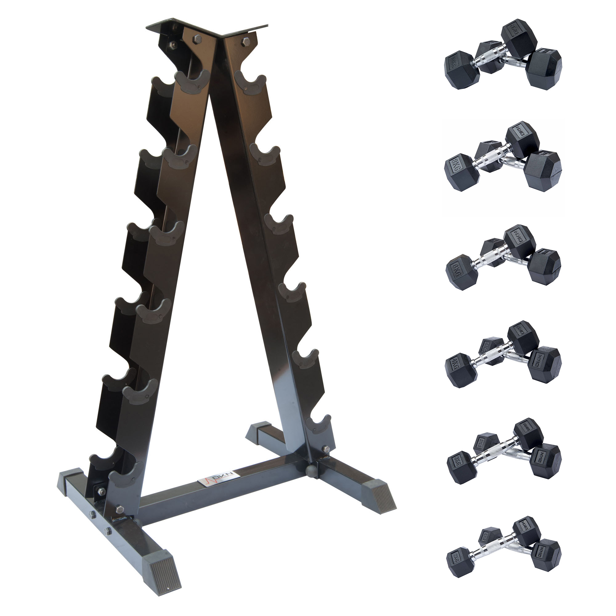 Dumbbell Set With Rack Shop For Cheap Weight Training
