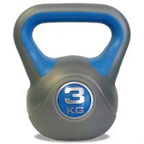 DKN 3kg Vinyl Kettlebell