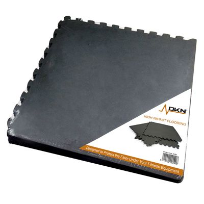 Dkn 6 Piece High Impact Interlocking Floor Protection Mat