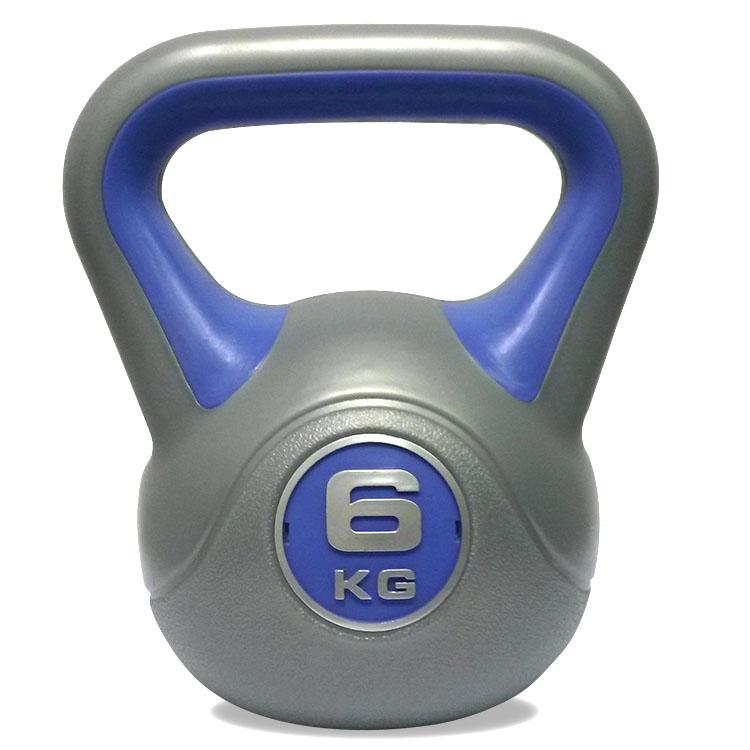 DKN 6kg Vinyl Kettlebell
