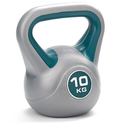 DKN Vinyl Kettlebell Weight Set - 10kg