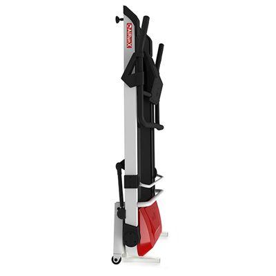 AiRun X treadmill  folded vertically