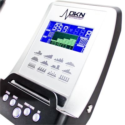 DKN AM-5i Ergo Exercise Bike Console in Use