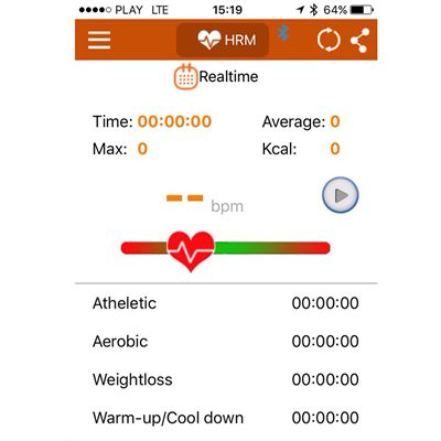 DKN Cardio Connect Heart Rate Monitor - app1