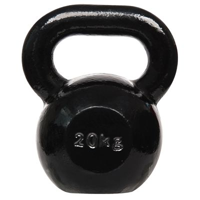 DKN Cast Iron Kettlebell - 20kg - back