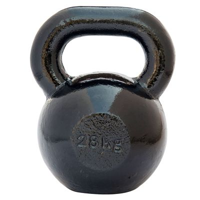 DKN Cast Iron Kettlebell - 28kg - back