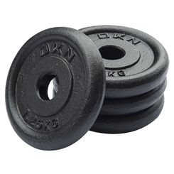 DKN Cast Iron Standard Weight Plates - 4 x 1.25kg