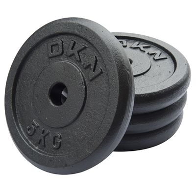 DKN Cast Iron Standard Weight Plates 4 x 5kg
