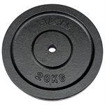 DKN Cast Iron Standard Weight Plates - 20kg