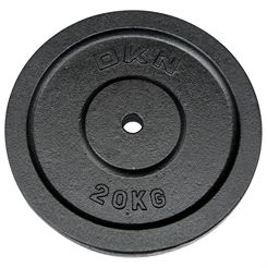 DKN Cast Iron Standard Weight Plates - 20kg