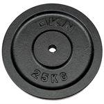 DKN Cast Iron Standard Weight Plates - 25kg