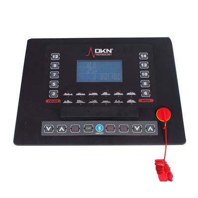 DKN EcoRun Treadmill - Black Version Console