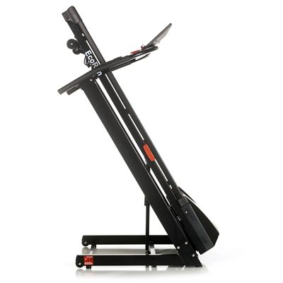 DKN EcoRun Treadmill - Black Version Folded