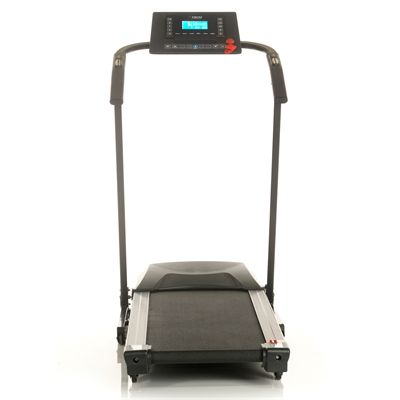 DKN EcoRun Treadmill - Black Version Front