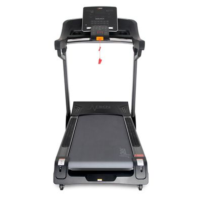 DKN EnduRun Folding Treadmill - DKN Logo - Front