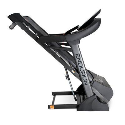 DKN EnduRun Folding Treadmill - Folded