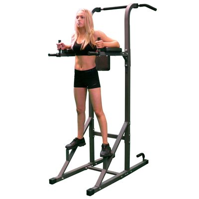 DKN Fitness Power Tower Training Station - In use