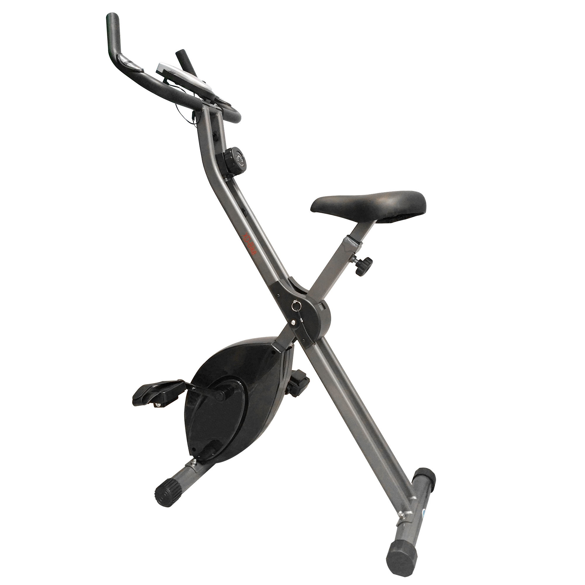 DKN Folding XD Exercise Bike - Black