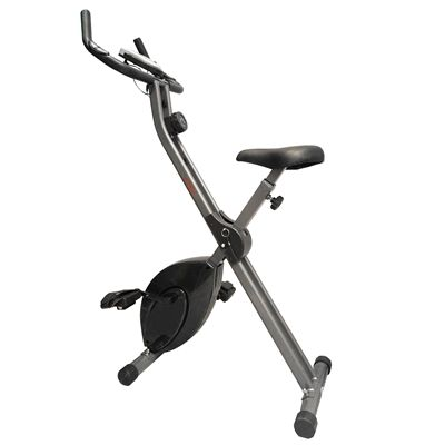DKN Folding XD Exercise Bike - Black
