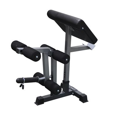 DKN Leg Developer and Preacher Curl Attachments - Side View
