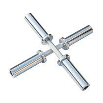 DKN Olympic Chrome Dumbbell Bars - Pair