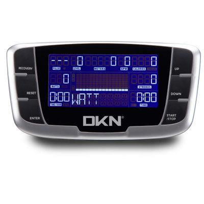 DKN R-500 Rowing Machine - Console Image