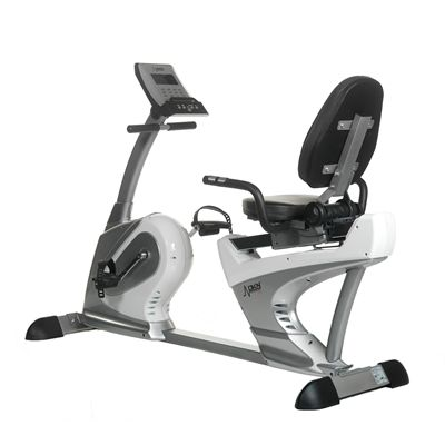 DKN Recumbent RB-3i Exercise Bike Back View