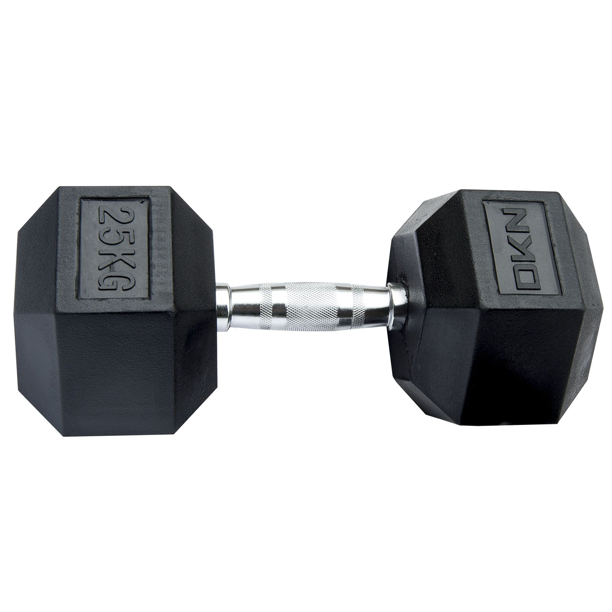 Dumbbells For Sale >> DKN Rubber Hex Dumbbells