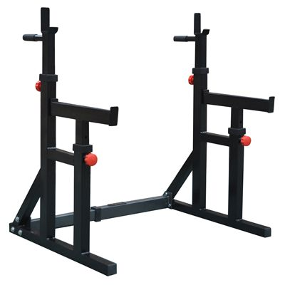 DKN Squat and Dip Rack with Spotter Catchers