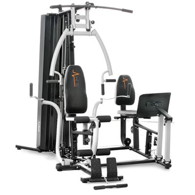 DKN Studio 9000 Multi Gym with Leg Press - side view 2015