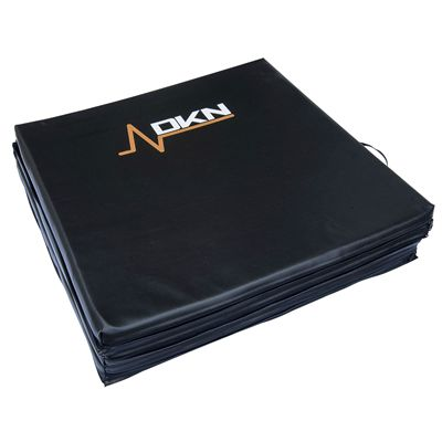 DKN Tri-Fold Exercise Mat with Handles - Folded
