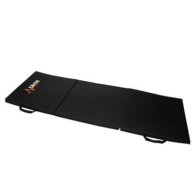 DKN Tri-Fold Exercise Mat with Handles - Flat