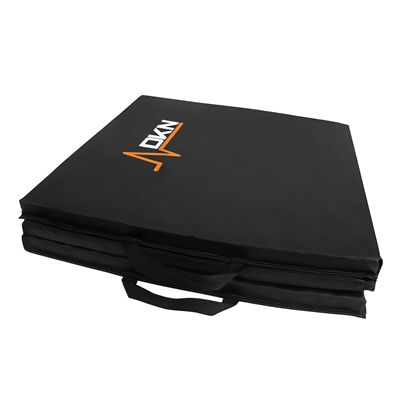 DKN Tri-Fold Exercise Mat with Handles - Folded1