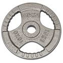 DKN Tri Grip Cast Iron Olympic Weight Plate 15kg