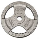 DKN Tri Grip Cast Iron Olympic Weight Plates 25kg