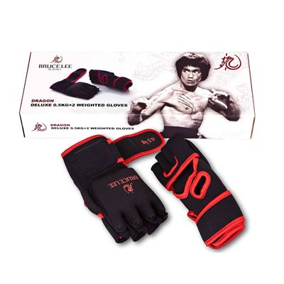 Dragon Deluxe 0.5kg Weighted Gloves3