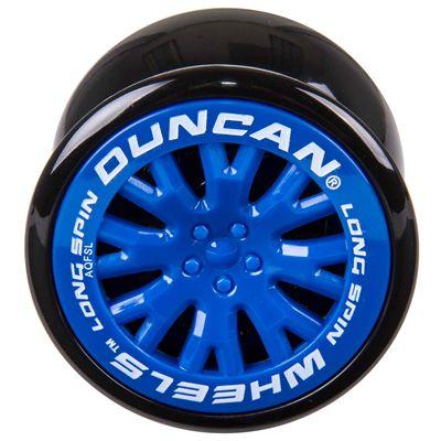Duncan Wheels Yo-yo - Blue - Front