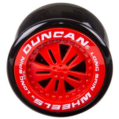 Duncan Wheels Yo-yo - Red - Front