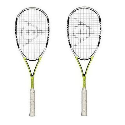 Dunlop Aerogel Ultimate Squash Racket - Double Package
