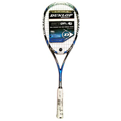Dunlop Aerogel 4D Pro GT-X Squash Racket Double Pack - Unpacked1