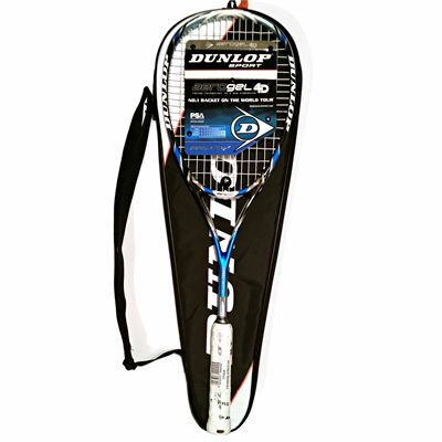 Dunlop Aerogel 4D Pro GT-X Squash Racket Double Pack - Unpacked