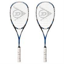 Dunlop Aerogel 4D Pro GT-X Squash Racket Double Pack