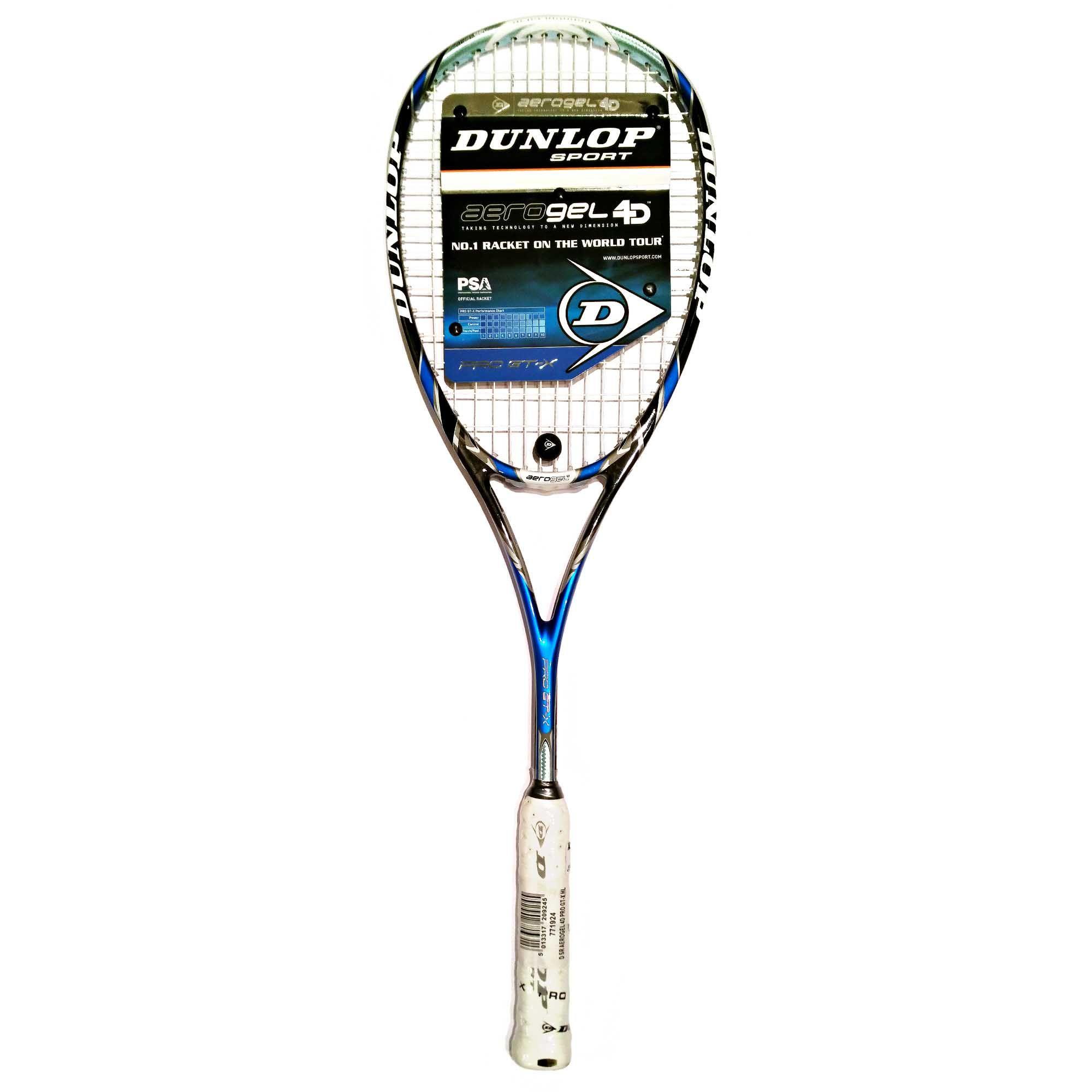 Dunlop Aerogel 4d Pro Gt X Squash Racket