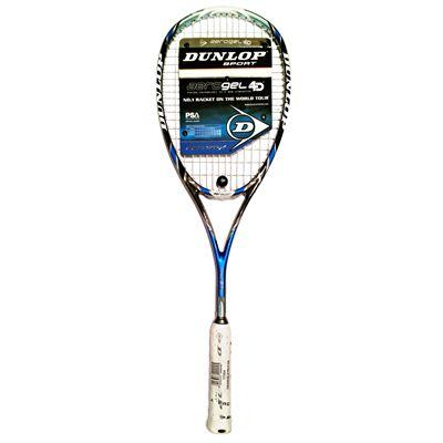 Dunlop Aerogel 4D Pro GT-X Squash Racket - Unpacked
