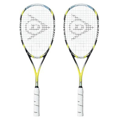Dunlop Aerogel 4D Ultimate Squash Racket Double Pack