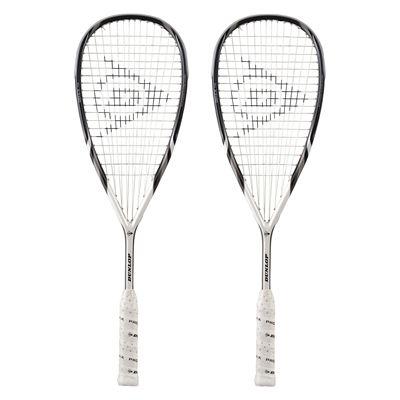 Dunlop Apex 110 Squash Racket Double Pack