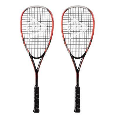 Dunlop Apex 120 Squash Racket Double Pack