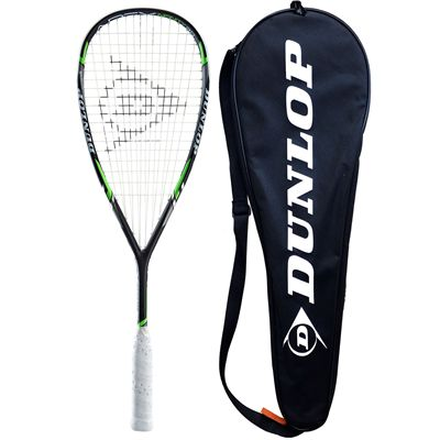 Dunlop Apex Infinity 3.0 Squash Racket - main with cover