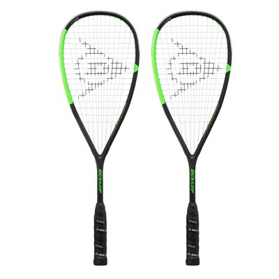 Dunlop Apex Infinity 4.0 Squash Racket Double Pack